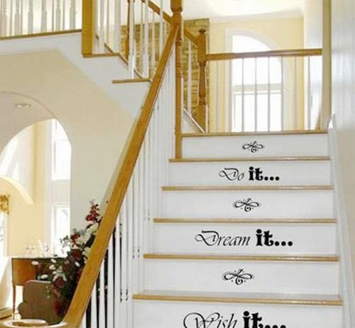 cầu thang trang trí hoa văn đẹp