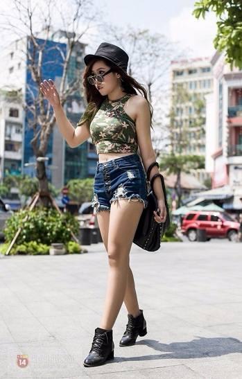 thời trang dành cho hot girl cá tính