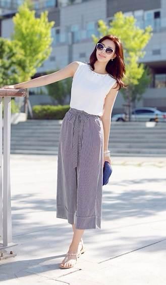 quần culottes cho ngày hè thêm mát mẻ